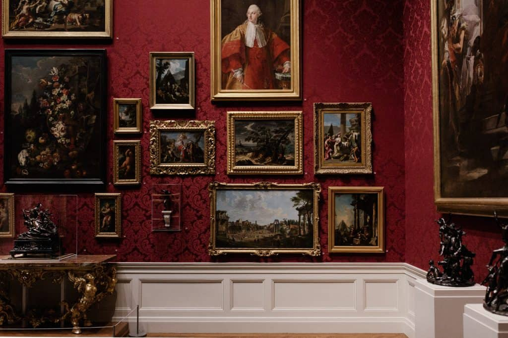 Wall of Paintings - We Buy Any Home UK